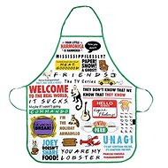 Friends Quotes - apron - Apron