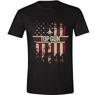 Top Gun: Distressed Flag - T-Shirt - T-Shirt