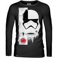Star Wars: Trooper Mask - T-shirt with Long Sleeves - T-Shirt