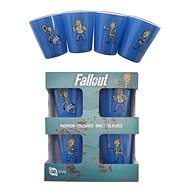 Fallout - Shot Glasses (4x) - Glass for Cold Drinks