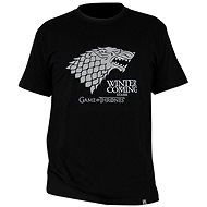 T-Shirt Game of Thrones - Winter Is Coming - T-Shirt, M