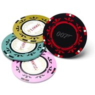 James Bond - Casino Royale Poker Chip Coasters - coasters