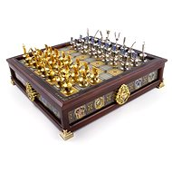 Harry Potter - Hogwarts Houses Quidditch Chess Set - Chess - Board Game