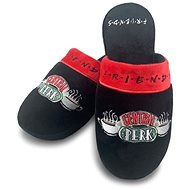 Friends - Central Perk - Slippers size 38-41, Black - Slippers