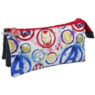 Marvel Avengers - Logo -  Triple Pencil Case - School Case