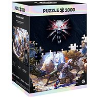 The Witcher: Geralt and Triss in Battle - Puzzle
