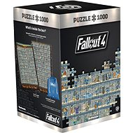 Fallout 4: Perk Poster - Good Loot Puzzle - Puzzle