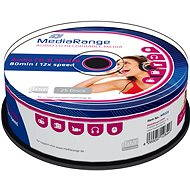 MediaRange CD-R Audio 25pcs cakebox
