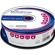 MediaRange CD-R 25pcs cakebox