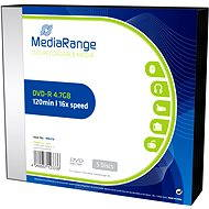 MediaRange DVD-R 5pcs in SLIM box - Media