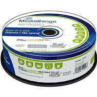 MediaRange DVD-R Inkjet Full Surface Printable 25pcs cakebox - Media