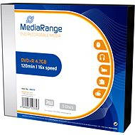 MediaRange DVD + R 5pcs in SLIM box