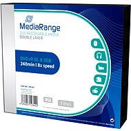 MediaRange DVD+R Double Layer 5pcs in a SLIM box - Media