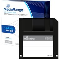 "MediaRange 3.5""/1.44MB, Package of 10pcs, Plastic. - Floppy Disk"