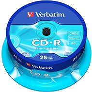 Verbatim CD-R DataLife Protection 52x, 25pcs cakebox