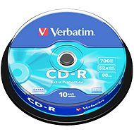 Verbatim CD-R DataLife Protection 52x, 10pcs cakebox