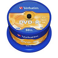 Verbatim DVD-R 16x, 50pcs cakebox