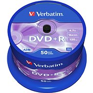 Verbatim DVD+R 16x, 50 piece cakebox