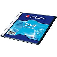 VERBATIM CD-R 80 52x EXTRA slim 200pcs - Media