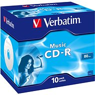 VERBATIM CD-R 80 MUSIC box 10pcs - Media