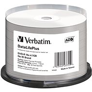VERBATIM DVD-R DataLifePlus 4.7GB, 16x, Thermal Printable, Spindle 50pcs - Media