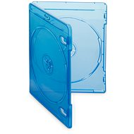 Blu-ray Media Case for 2 Discs, Blue, 10pcs/pack - CD/DVD Case