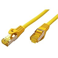 OEM S/FTP Patch Cable Cat 7, with RJ45 connectors, LSOH, 25m, Yellow - Network Cable