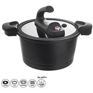 GRANDE Pot, Low Pressure, Diameter of 26cm, Glass Lid - Pressure Cooker