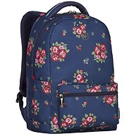 "WENGER COLLEAGUE 16"", navy floral print - Laptop Backpack"