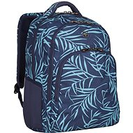 "WENGER UPLOAD 16"", Navy Fern Print - Laptop Backpack"