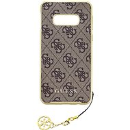 Guess Charms Hard Case 4G Brown for Samsung G970 Galaxy S10e - Mobile Case