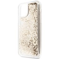 Guess Glitter Hearts for iPhone 11 Gold (EU Blister) - Mobile Case