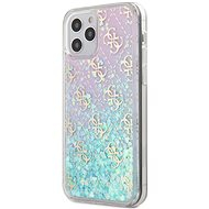 Guess 4G Liquid Glitter for Apple iPhone 12 Pro Max, Iridescent - Mobile Case