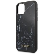 Guess Marble for iPhone 11 Pro Max, Black (EU Blister) - Mobile Case