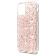 Guess 4G Peony Glitter for iPhone 11 Pro, Pink (EU Blister) - Mobile Case