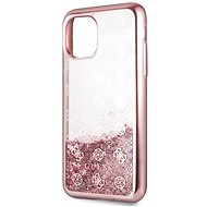 Guess 4G Peony Glitter for iPhone 11 Pro, Rose (EU Blister)