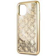 Guess 4G Peony Glitter for iPhone 11, Gold (EU Blister)