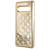 Guess Glitter 4G Peony Gold for Samsung G973 Galaxy S10 - Mobile Case