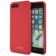 Guess Silicone Logo TPU Case Red for iPhone 7/8 Plus - Mobile Case