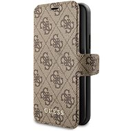 Guess 4G Book for iPhone 11 Pro, Brown (EU Blister) - Mobile Phone Case