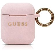 Guess Silicone Cover for Airpods Pink - Case