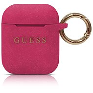 Guess Silicone Cover for Airpods Fuchsia - Case