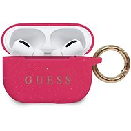 Guess Silicone Case for Airpods Pro Fuschia - Headphone Case