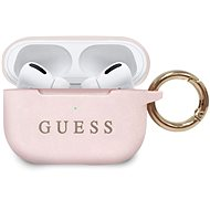 Guess Silicone Cover for Airpods Pro, Light Pink - Case