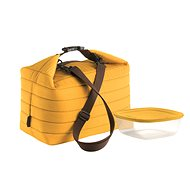 Guzzini Insulated Lunch Bag and Container Set, in yellow - Thermo bag