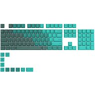 Glorious PC Gaming Race GPBT Keycaps - 114 PBT, ANSI, US-Layout, Rain Forest - Replacement Keys