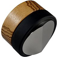 Coffee Distributor - O58.4mm Coffee Tamper with Zebrano Handle - Coffee Tamper