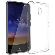 Hishell TPU for Nokia 2.2, Clear - Mobile Case