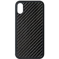 Hishell Premium Carbon for iPhone Xs, Black - Mobile Case