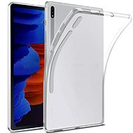 Hishell TPU for Samsung Galaxy Tab S7+ Clear - Tablet Case